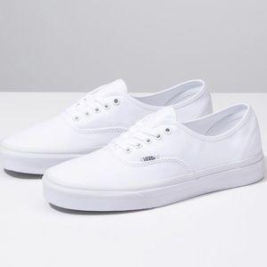 """Vans True White """"Authentic"""" shoes"""